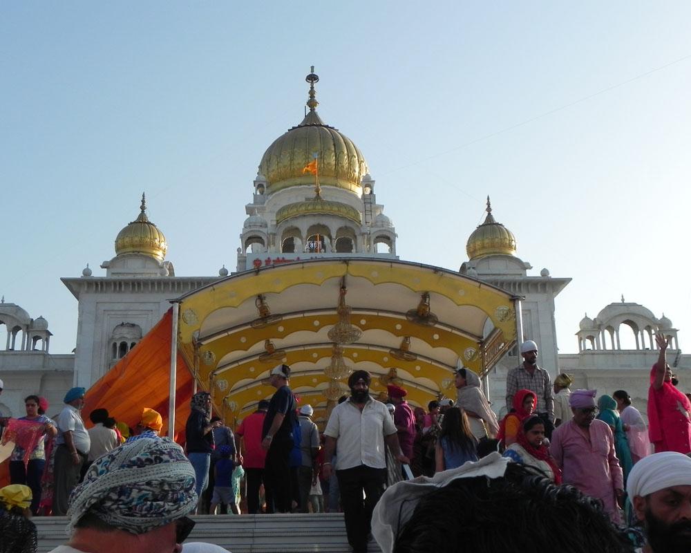 Tempio d'Oro della religione Sikh a Delhi