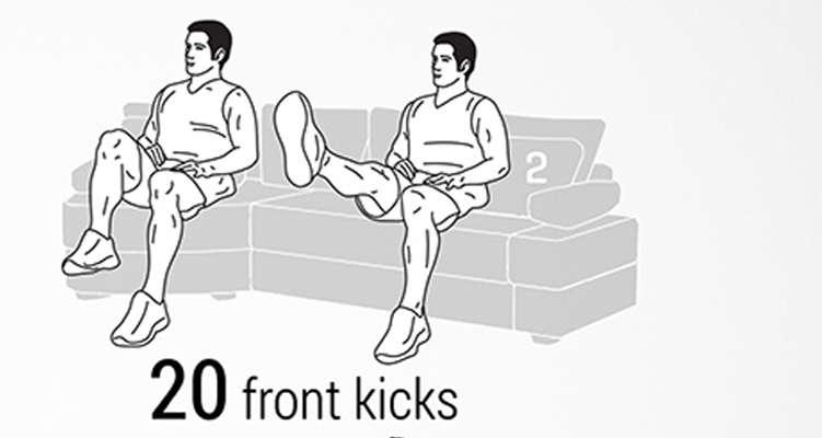 front-kicks