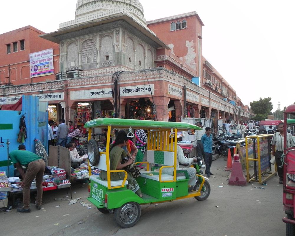 Il centro di Jaipur
