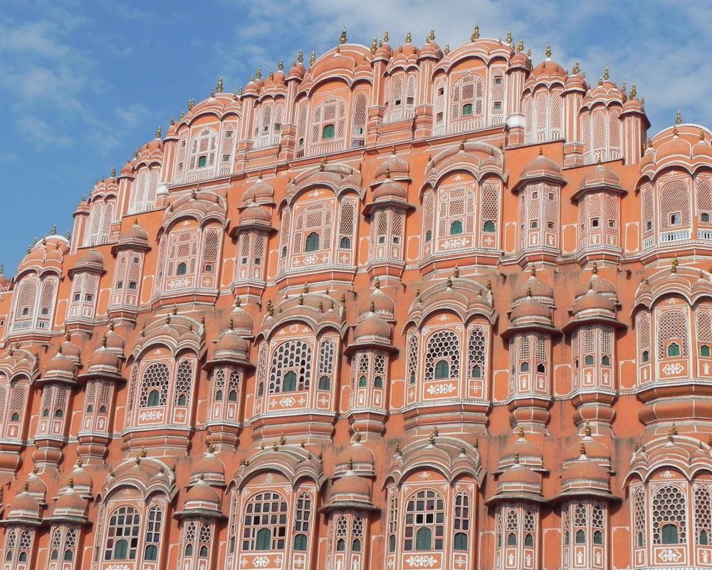 Il Palazzo dei Venti, a Jaipur