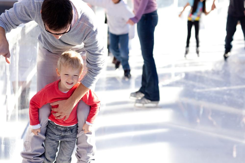 pattinaggio sul ghiaccio per divertirsi e tonificarsi
