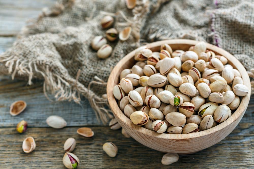 i pistacchi alimenti ricchi di fibre