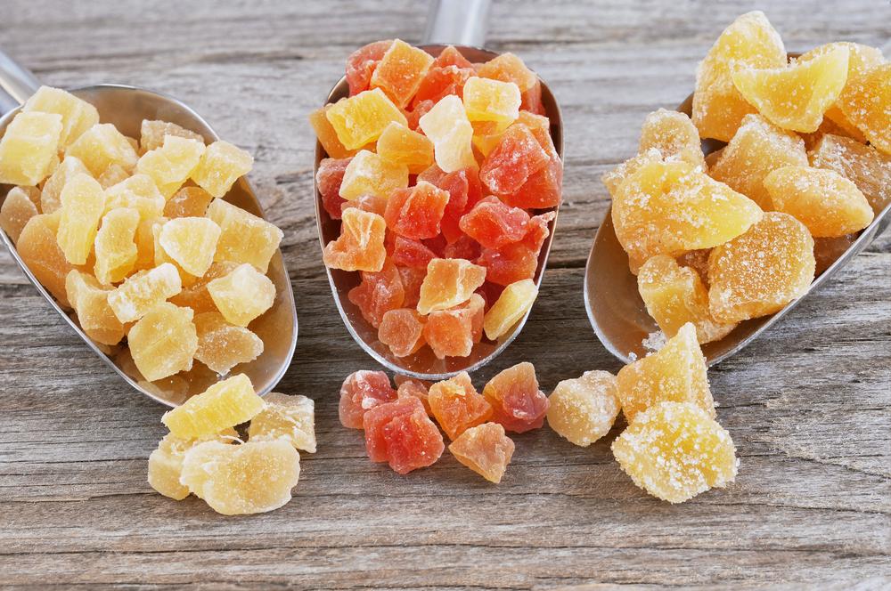prodotti a base di frutta che contengono glutine