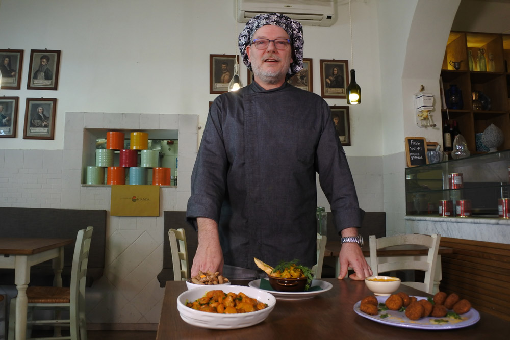 Chef Iandelli ristorante cucina Ghianda Firenze