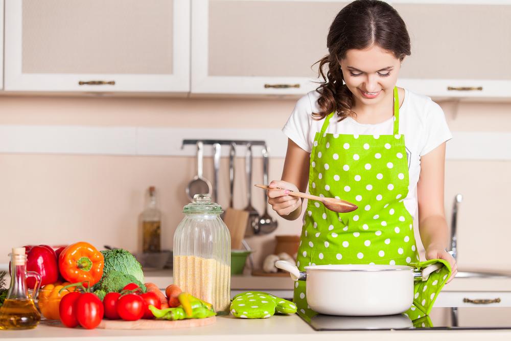 Le buone abitudini alimentari come cucinare più spesso