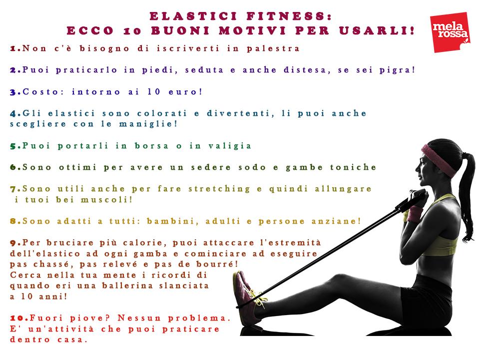 elastici fitness, perché usarli fa bene alla muscolatura