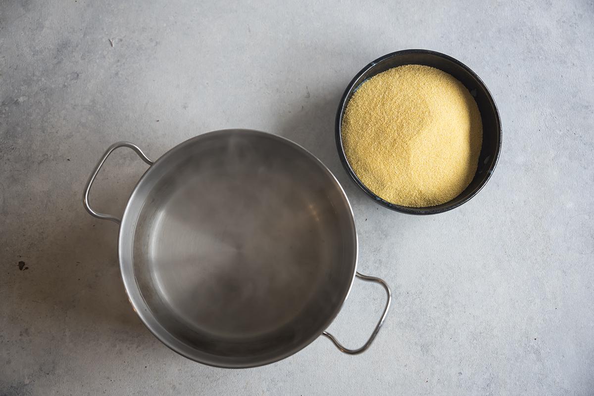come si fa la pizza di polenta