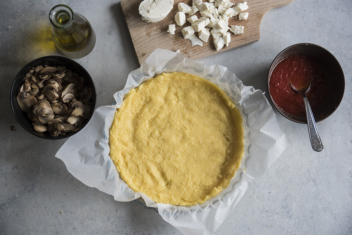 pizza di polenta