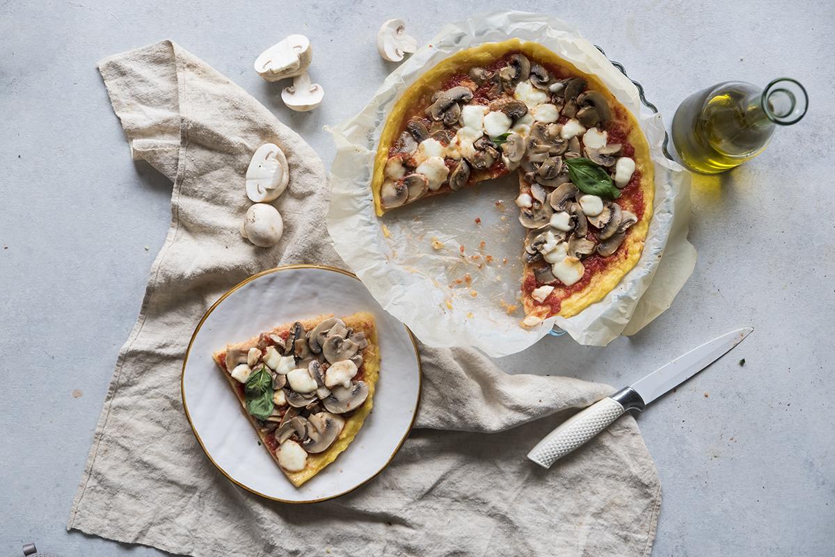 come preparare la pizza di polenta