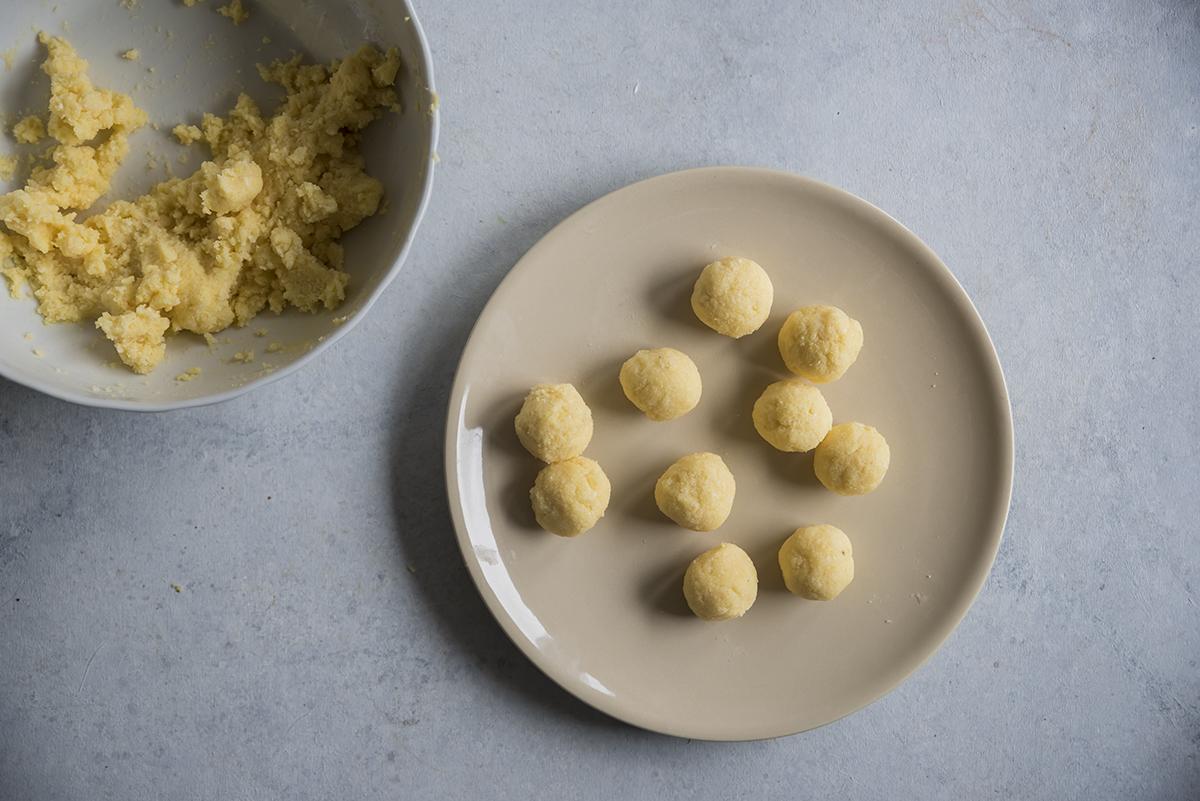 polpette di polenta al forno