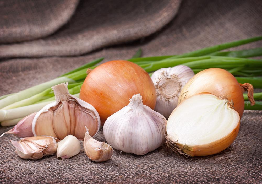Alimentazione e tumori: aglio e cipolla