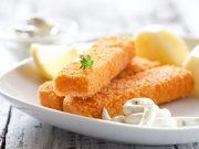 i bastoncini di pesce per i bambini fatti in casa