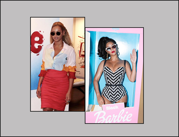 fisico a clessidra Beyonce