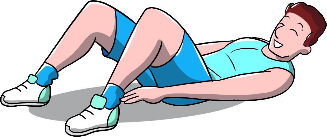 come allenare gli addominali - Heel touches