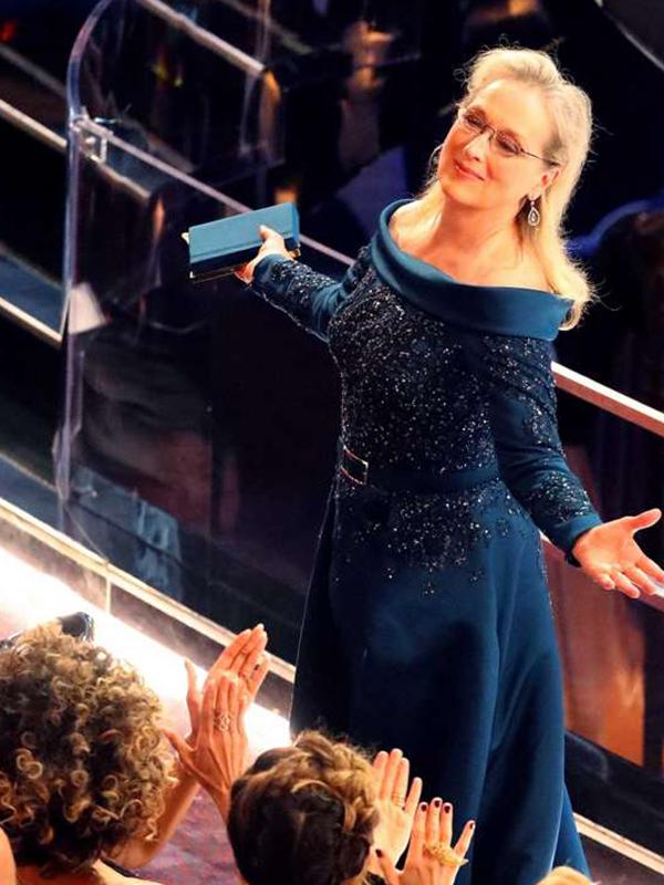 la notte degli oscar Meryl Streep