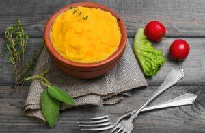 Ricetta polenta con carote e verza