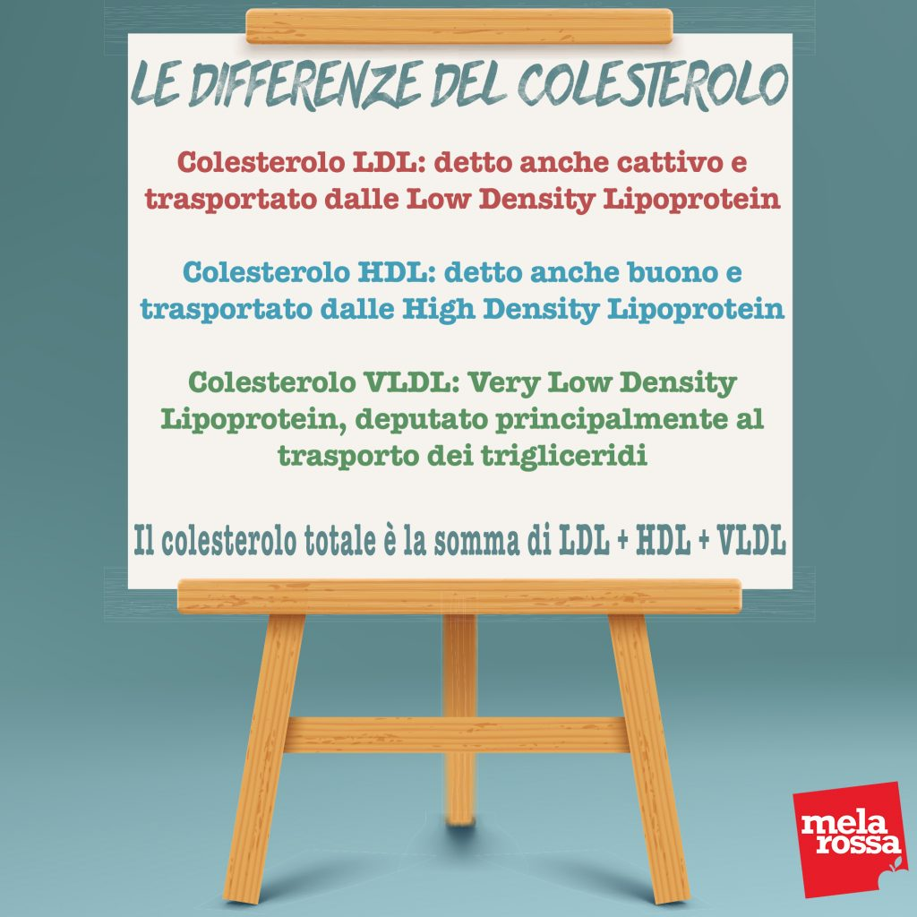 Tabella differenze colesterolo