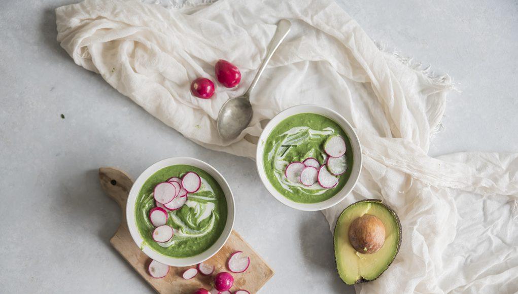 Ricette a meno di 300 calorie: zuppa di avocado