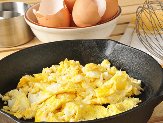 errori in cucina uova strapazzate