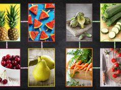 La guida alla sostituzione dei cibi: gruppo frutta e verdura