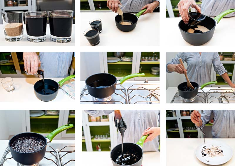 la ricetta della glassa di aceto balsamico