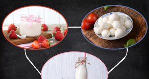 Guida sostituzione cibi: latte, yogurt, formaggi