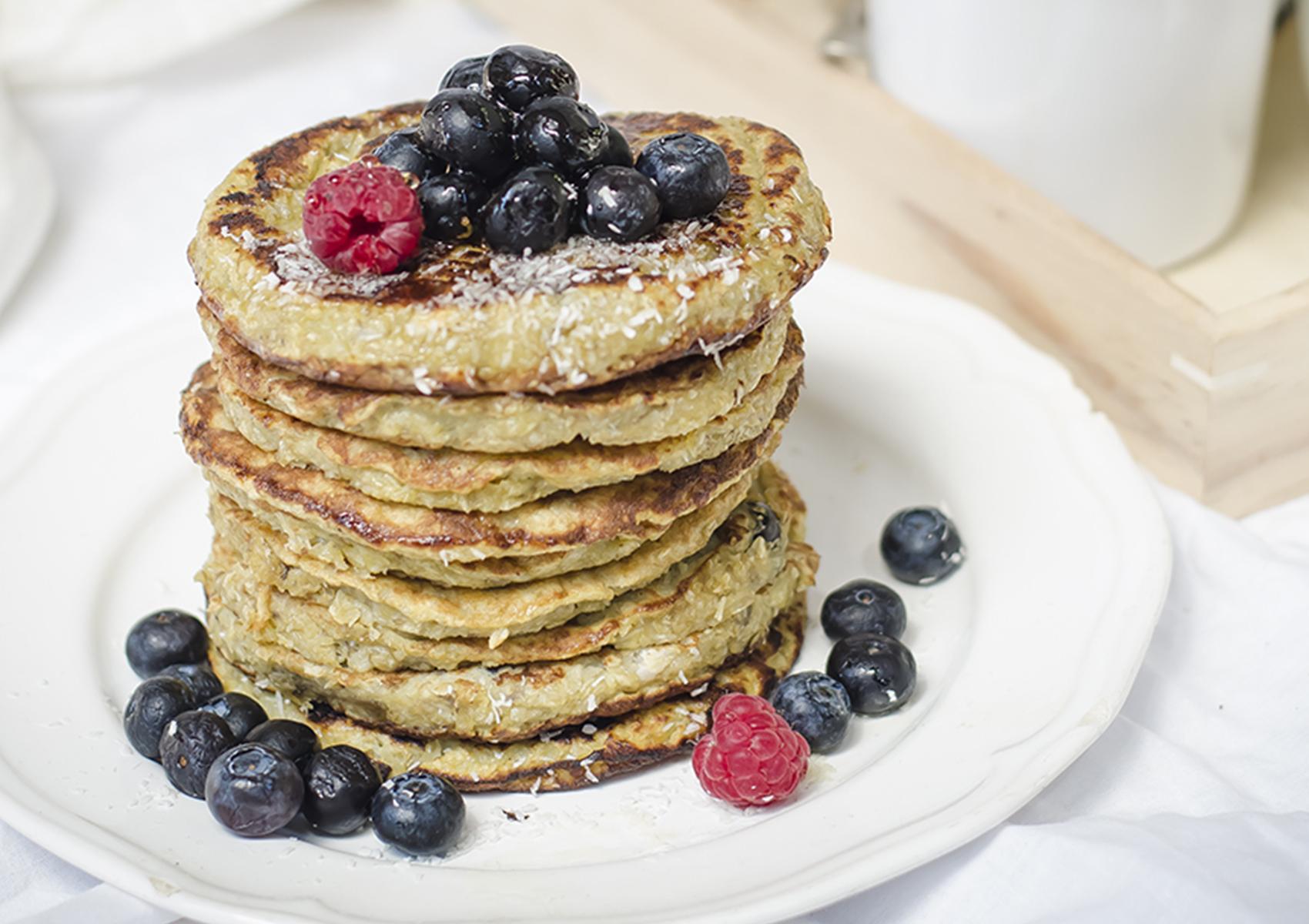 pancakes light senza zucchero