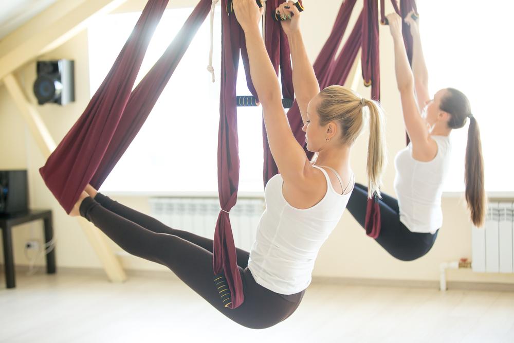 Pilates aereo: variante del pilates