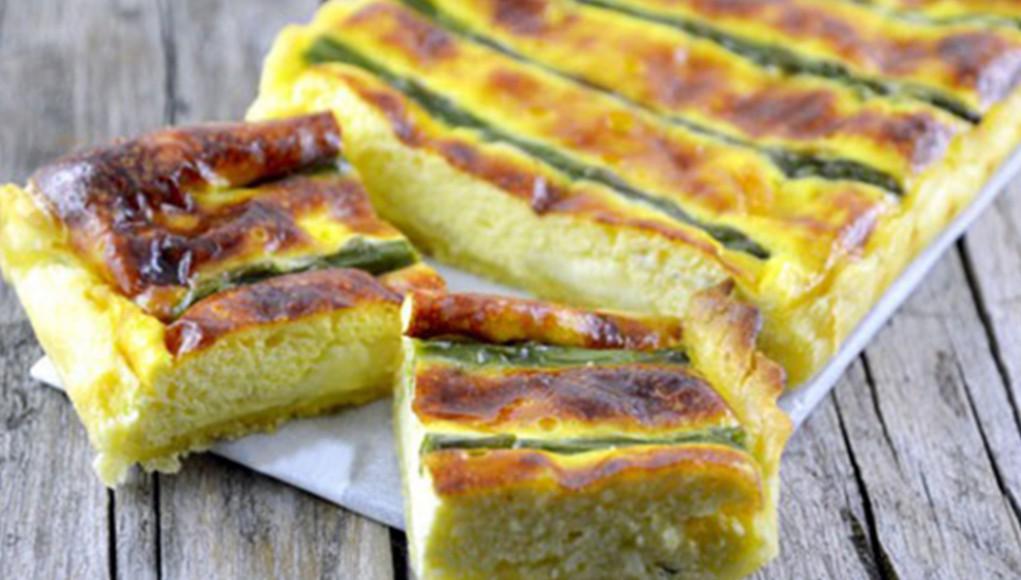 torte salate : quiche con asparagi