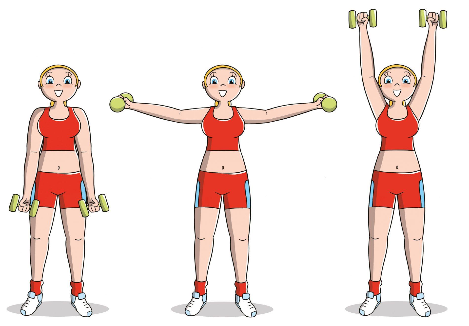 rassodare i seno con gli esercizi pettorali