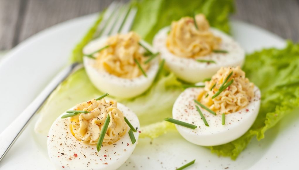ricetta uova ripiene