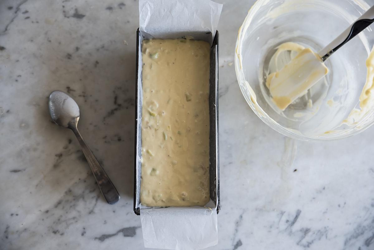 plumcake salato ai porri ricetta leggera