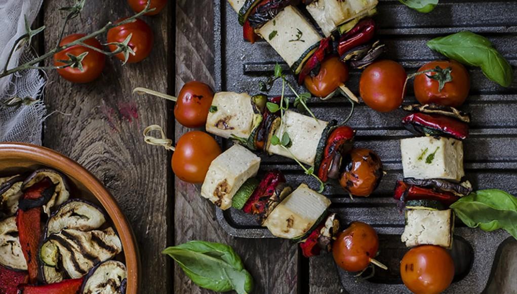 I legumi: ricetta spiedini di tofu