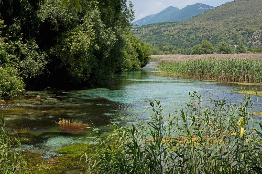 La riserva della foce del fiume Pescara