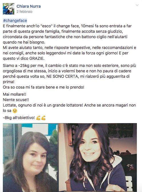 #changeface Chiara