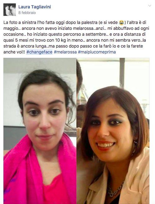 #changeface Laura