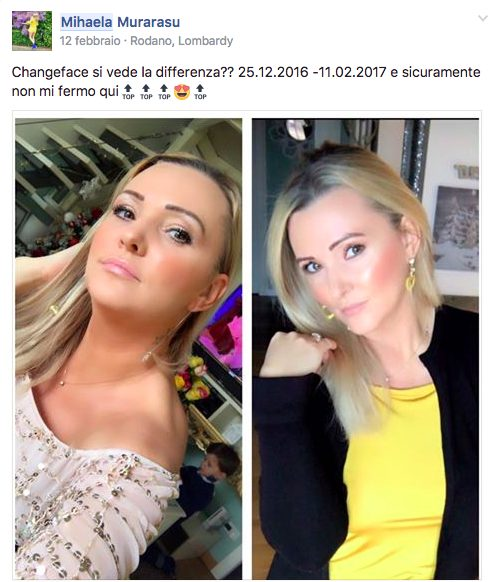 #changeface Mihaela