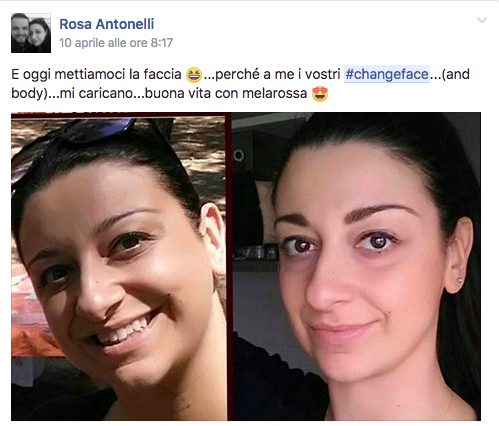 #changeface Rosa
