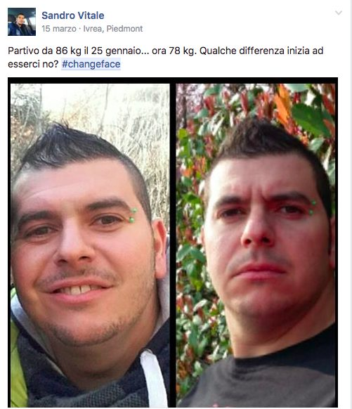 #changeface Sandro