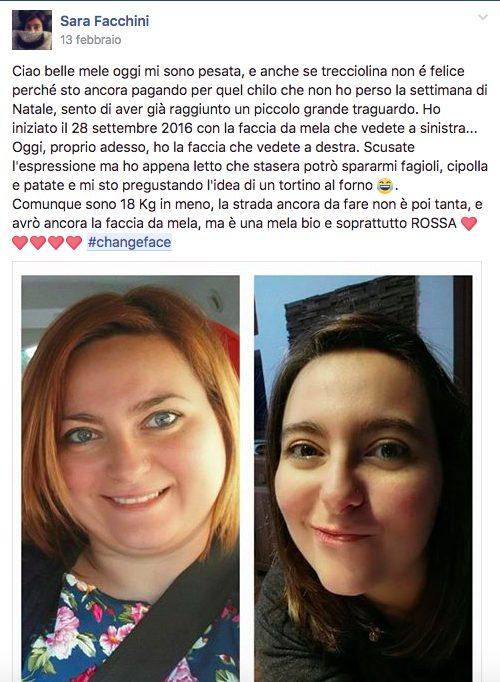 #changeface Sara