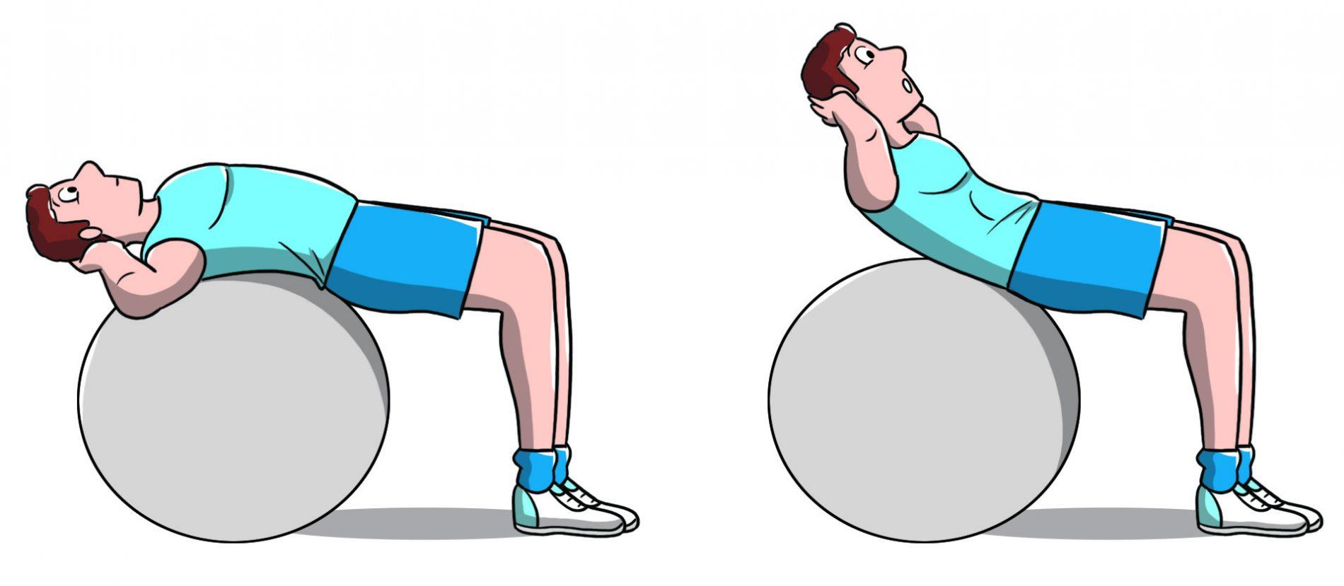 workout a casa: addominali