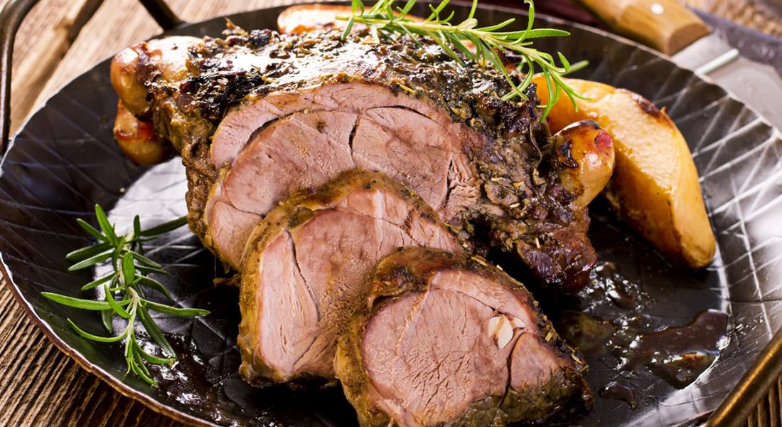 Ricetta dell'agnello porchettato di Pasqua