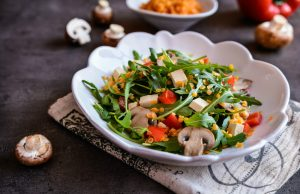 insalata di champignon e tonno