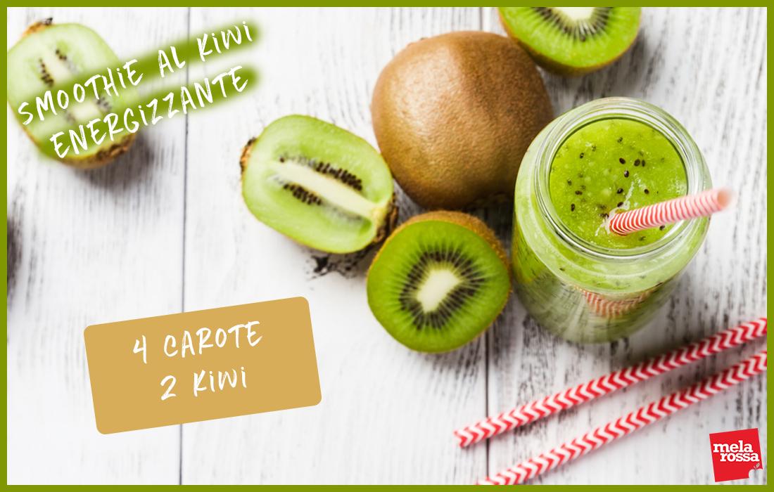 smoothie al kiwi energizzante