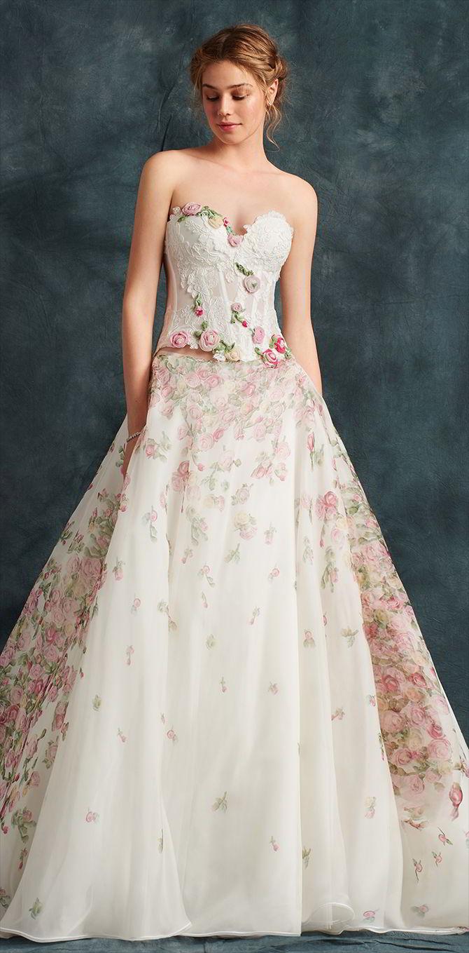tendenze sposa 2017, vestito due pezzi-atelier Eme
