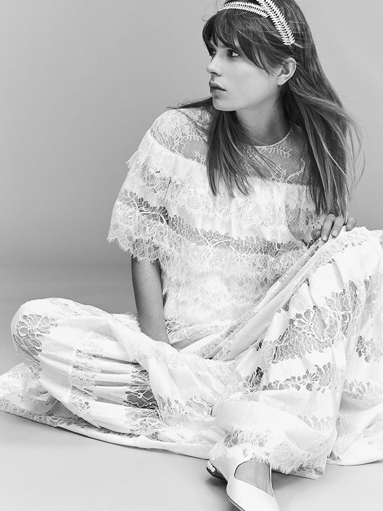 tendenze vestito da sposa 2017, stile vintage . eliie saab