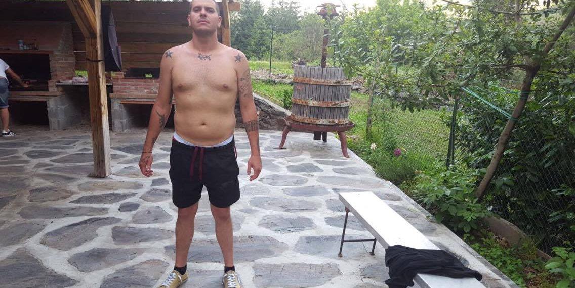 dieta melarossa sandro 14kg dopo