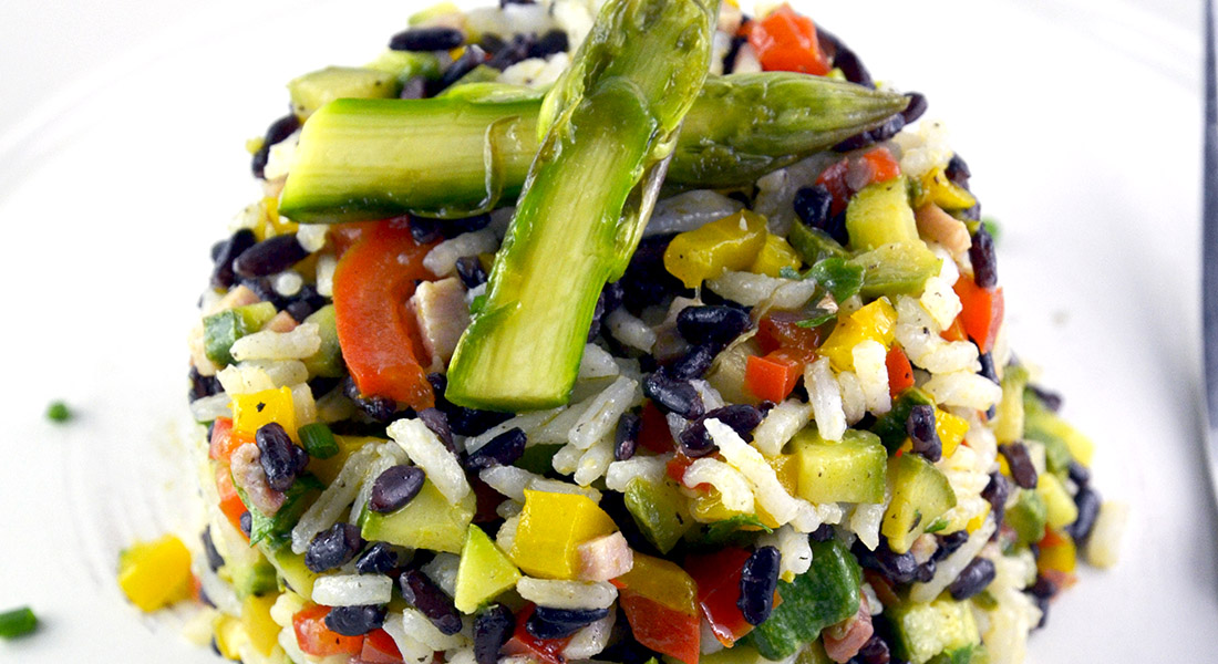 insalata-cerali-inslata di riso
