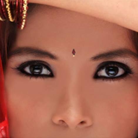 khol, eye liner del Marocco