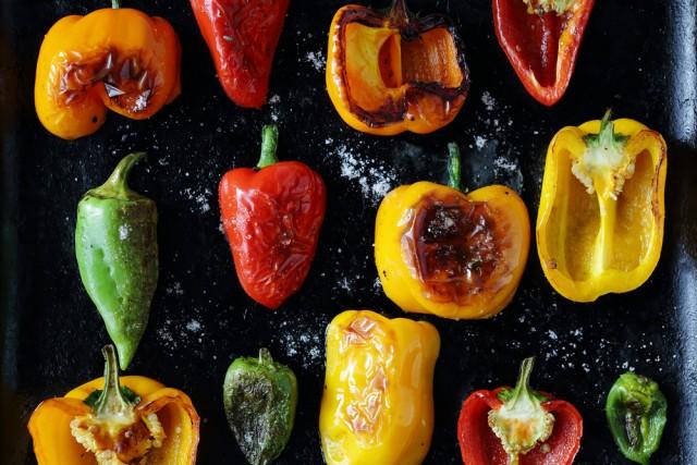 peperoni rossi gialli e verdi: differenze nutrizionali